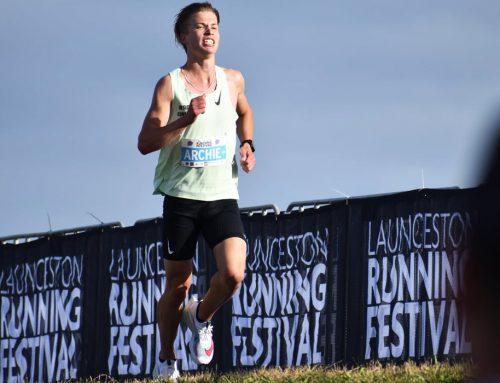 Young gun Archie Reid blasts around Launceston Half Marathon course in 65 mins