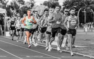 Archie Reid in action during the 2021 5k Frenzy