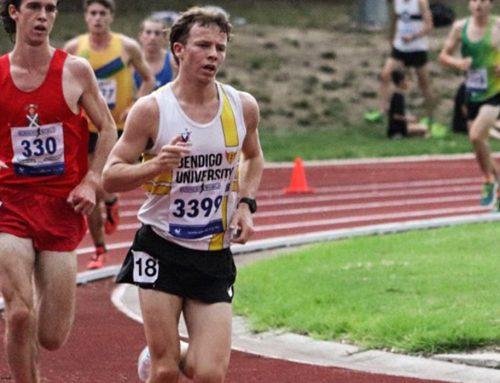 Matt Buckell claims bronze in Athletics Victoria's under-20 5000m championship