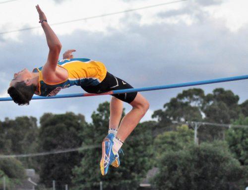 High jumper wins Geoff Major Rising Star Award